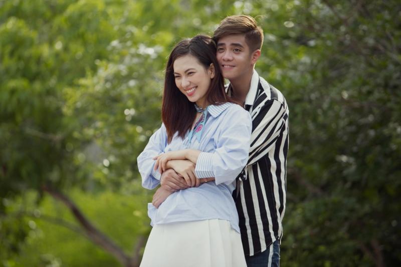 Bùi Anh Tuấn và nữ chính MV Xin Em