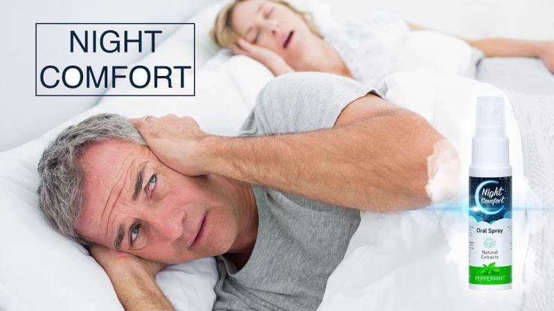 Xịt chống ngáy ngủ Night Comfort