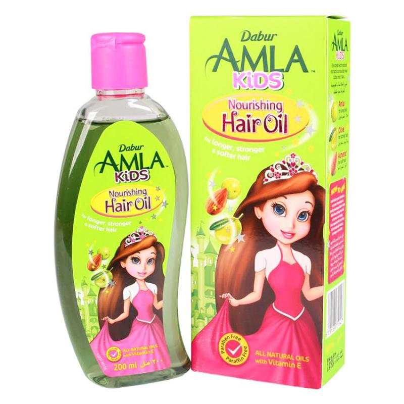 Xịt dưỡng tóc Dabur Amla Kids