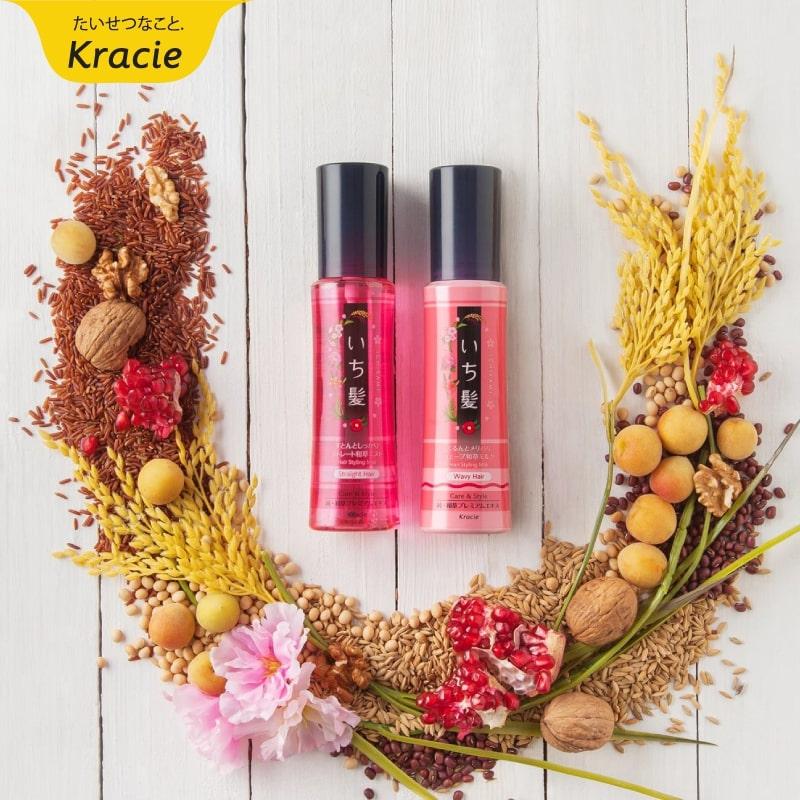 Xịt dưỡng tóc Kracie Ichikami