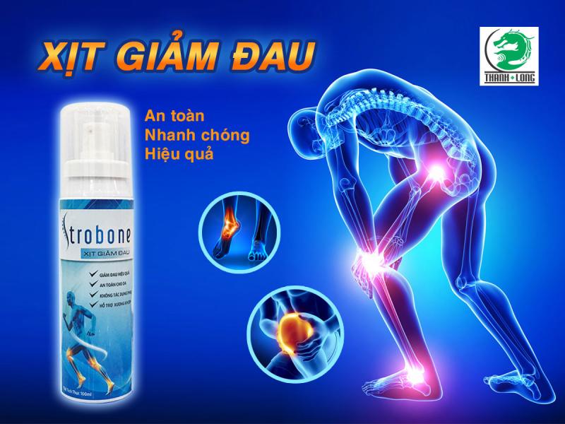 Xịt giảm đau Strobone Thanh Long Đường