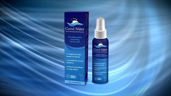 Xịt hỗ trợ chống ngủ ngày Good Niter