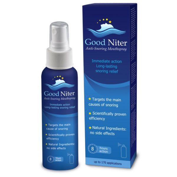 Xịt hỗ trợ chống ngủ ngáy Good Niter của Mỹ