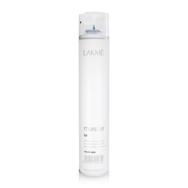 Xịt tạo kiểu Lakme Master Lak X-Strong Professional Hair Spray 500ml