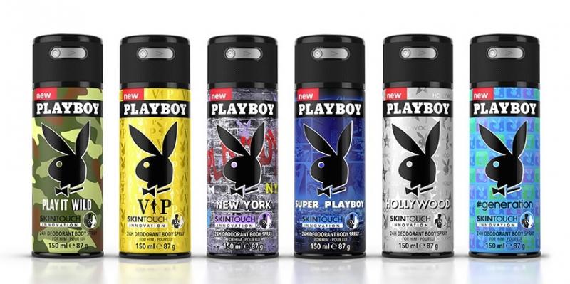 Xịt thơm toàn thân Nam Playboy