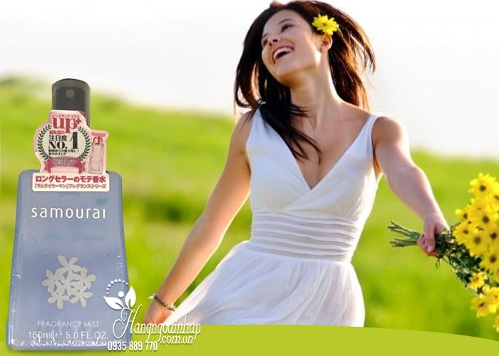 Xịt thơm toàn thân Samourai Fragrance Mist 150ml được ưa chuộng nhất tại Nhật với những mùi hương sang trọng, tinh tế và tươi mát chinh phục được những người khó tính