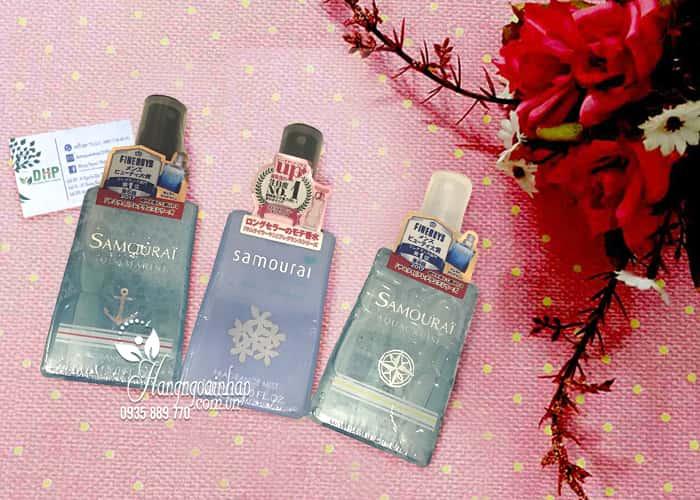 Xịt thơm toàn thân Samourai Fragrance Mist
