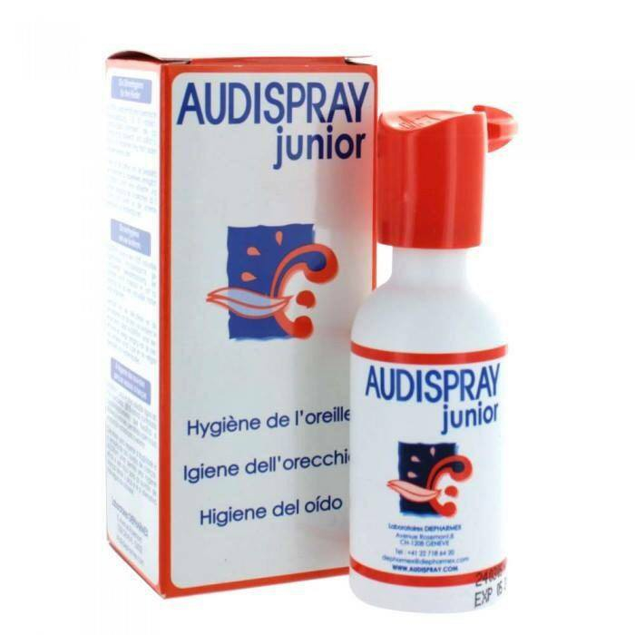Xịt vệ sinh tai Audispray Junior