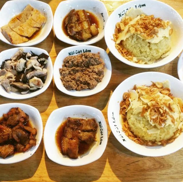 Xôi Cát Lâm - phong cách ẩm thực người Kẻ Chợ