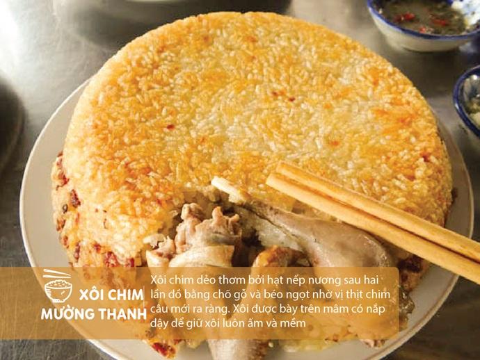 Xôi Chim Mường Thanh - Điện Biên