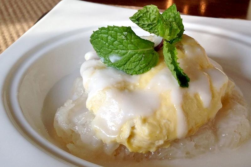 cách làm món ăn từ sầu riêng, xôi sầu riêng