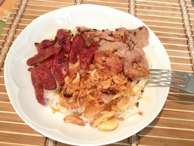 Xôi xíu, món ăn nổi tiếng của người dân Nam Định