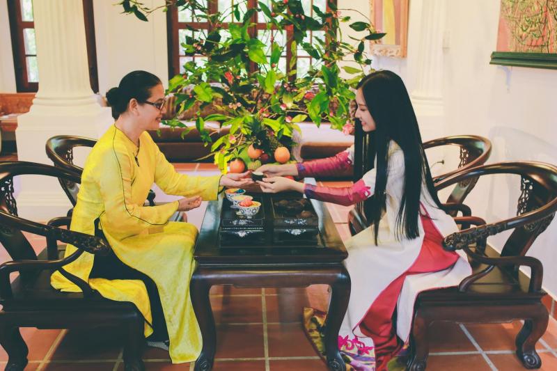 Đây là phong tục lâu đời cảu Việt Nam.