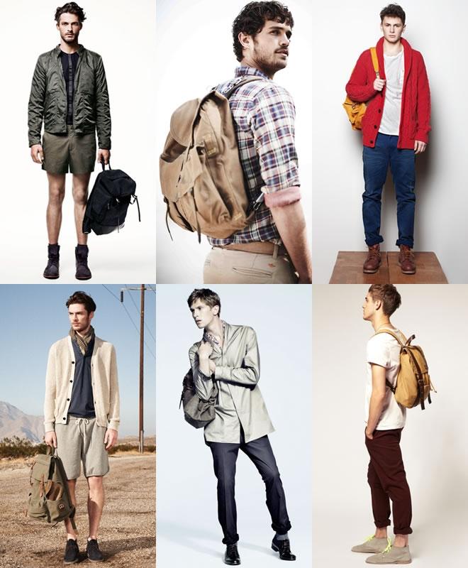 Ba lô là một món thời trang không thể thiếu cho các chàng trai trẻ trung và năng động