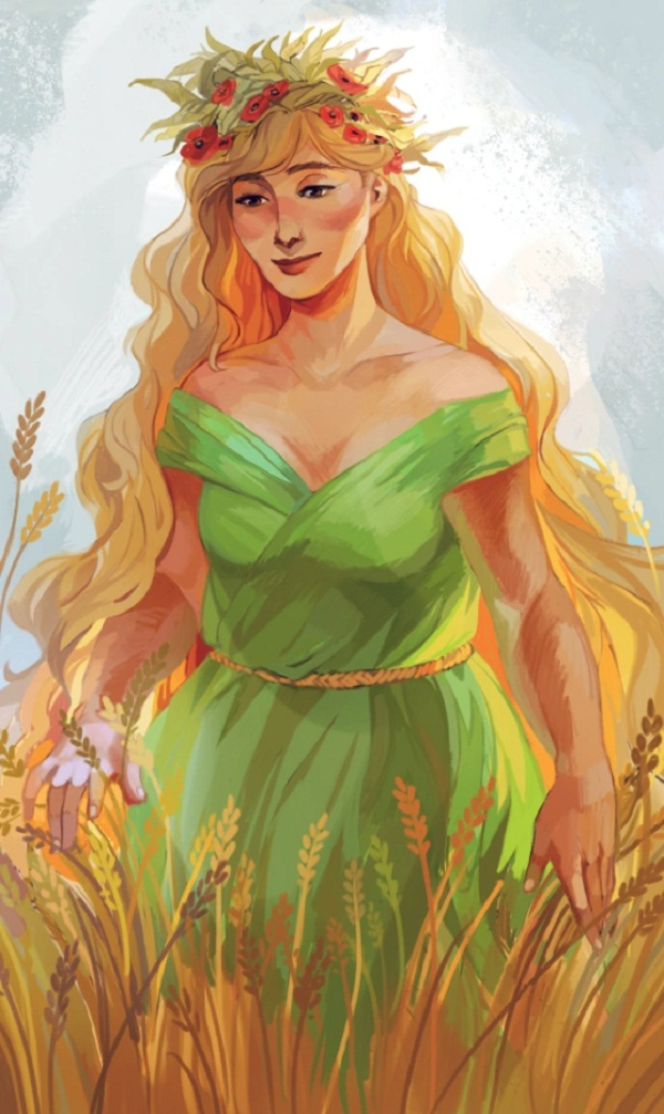 Nữ thần Demeter