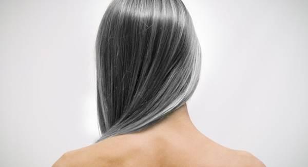 Xuất hiện tóc bạc