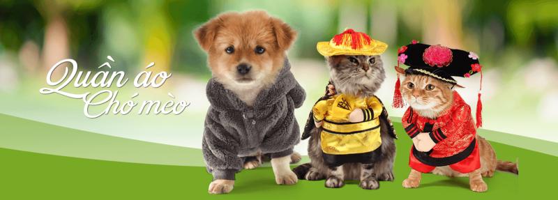 Thời trang cho chó mèo