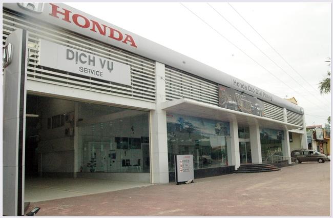 Xưởng dịch vụ Honda ô tô Giải Phóng