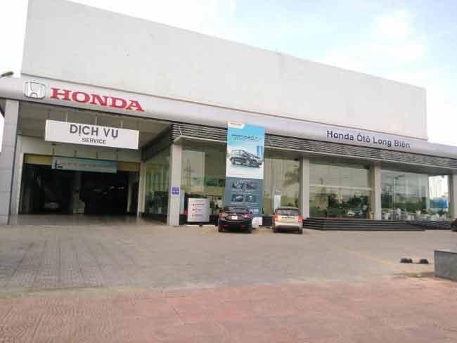 Xưởng dịch vụ Honda ô tô Long Biên