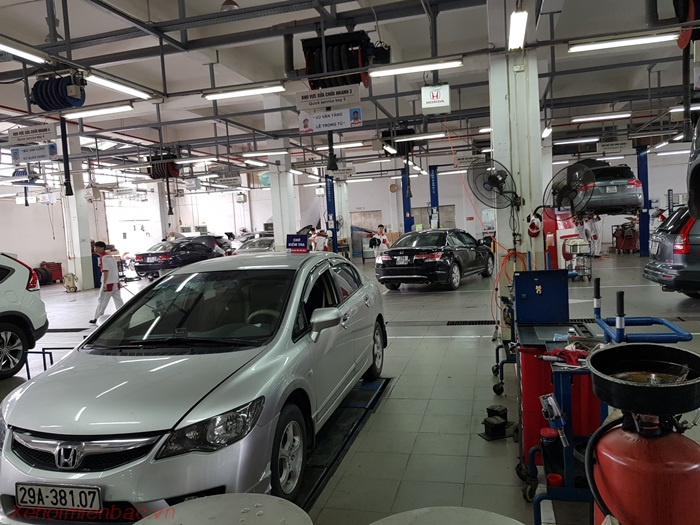 Xưởng dịch vụ Honda Ôtô Mỹ Đình