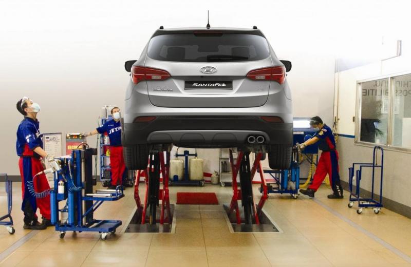 Xưởng dịch vụ Hyundai Giải Phóng
