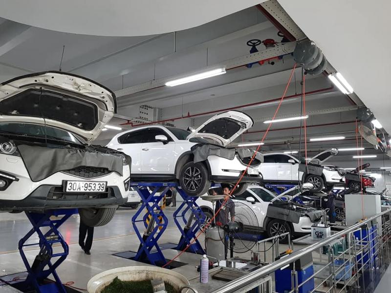 Xưởng dịch vụ Mazda Phạm Văn Đồng