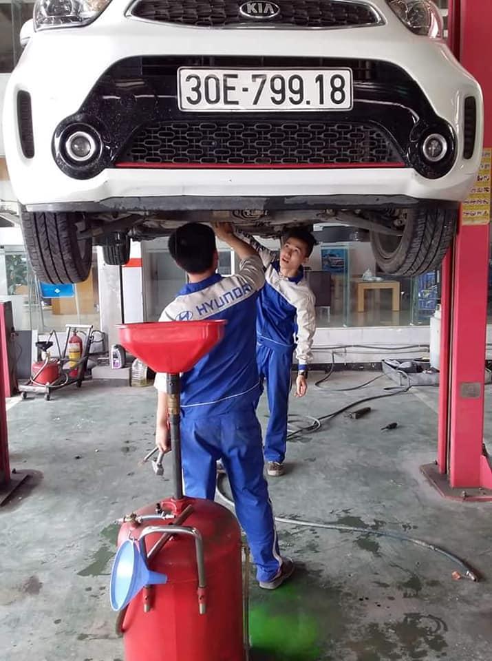 Xưởng dịch vụ sửa chữa ô tô OK Service