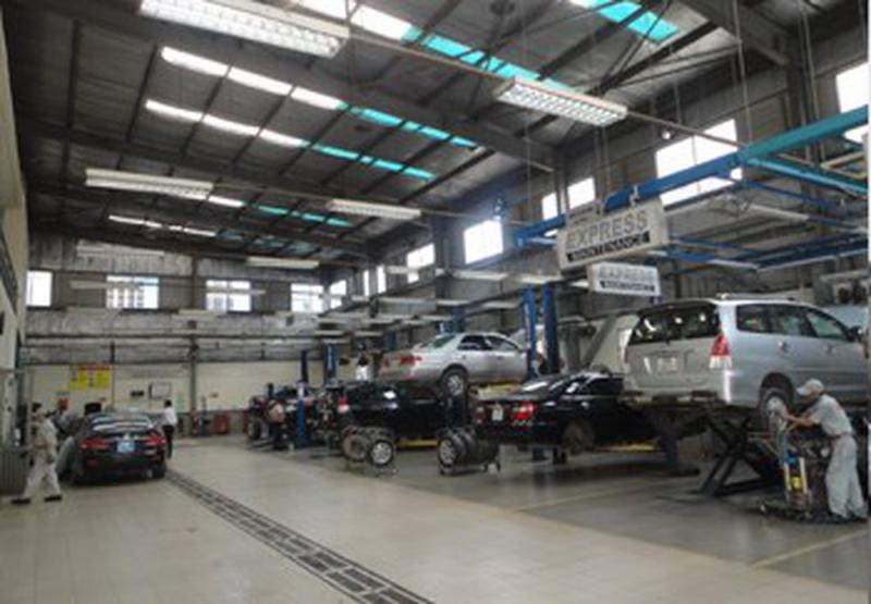 Xưởng dịch vụ Toyota Giải Phóng - TGP