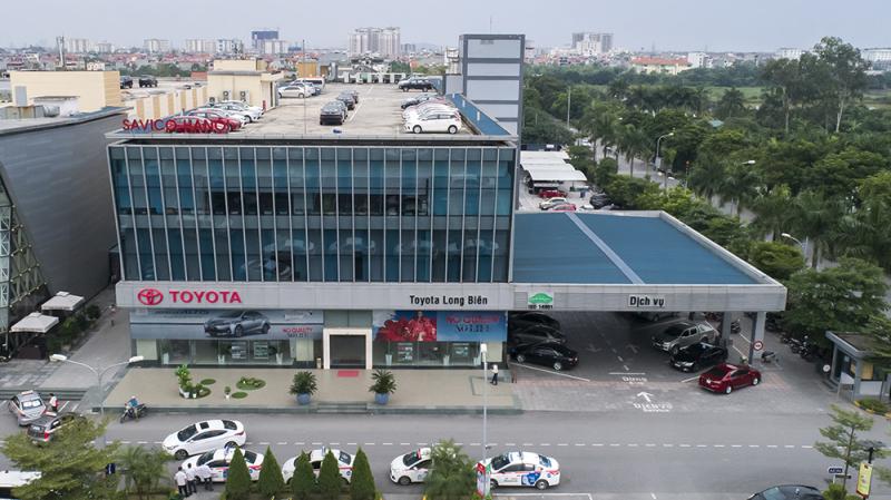 Xưởng dịch vụ Toyota Long Biên