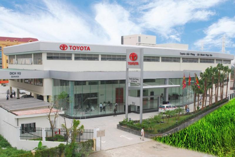 Xưởng dịch vụ Toyota Pháp Vân (TPV)