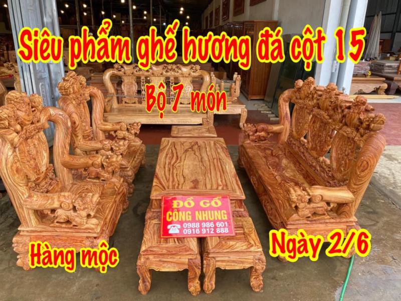 Xưởng đồ gỗ nội thất - CÔNG NHUNG