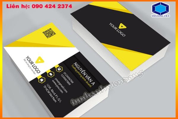 Mẫu card visit công ty Yourlogo