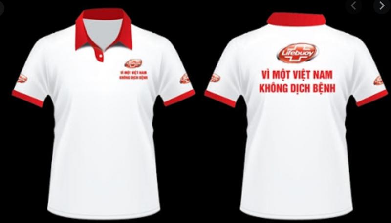 Xưởng may đồng phục áo thun Sao Việt