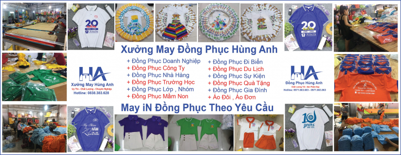 Xưởng may đồng phục Hùng Anh - Hà Giang