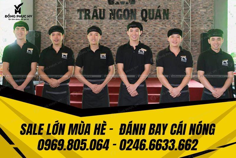 Xưởng May In Đồng Phục Tại Hà Tĩnh - Đồng Phục HV