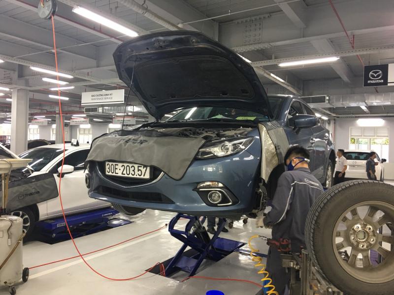 Xưởng Mazda Long Biên