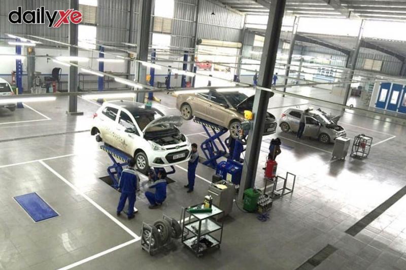 Xưởng sửa chữa Hyundai Phạm Hùng