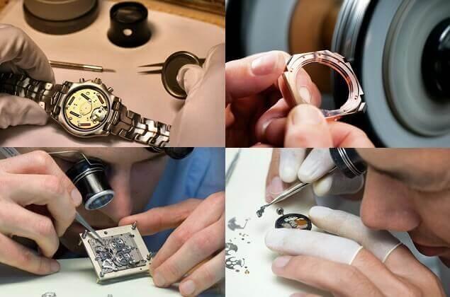 Quy trình sửa đồng hồ theo chuẩn Thụy Sĩ với các bước nghiêm ngặt
