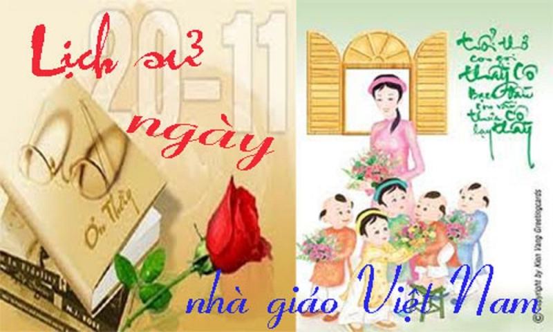 Ngày Nhà giáo Việt Nam xuất thân từ ngày Quốc tế Hiến chương các Nhà giáo