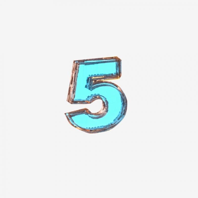 Ý nghĩa số 5 theo ngũ hành
