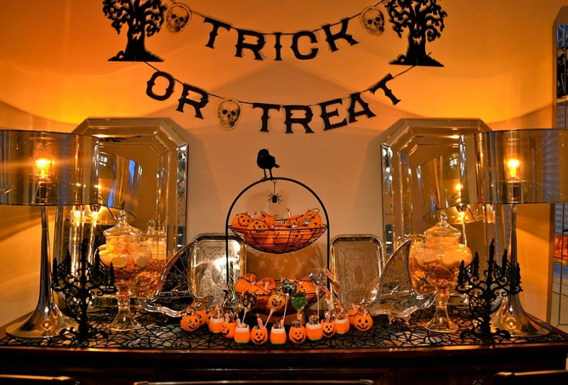 Top 10 ý tưởng trang trí nhà cho ngày Halloween