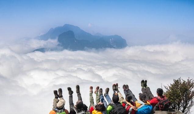 Săn mây tại Y Tý (Lào Cai)
