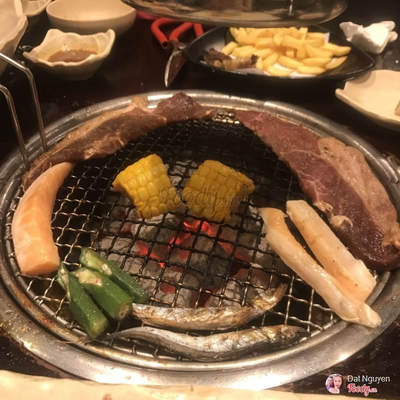 Menu của Yakimono khá đa dạng, mang hơi thở của Nhật Bản