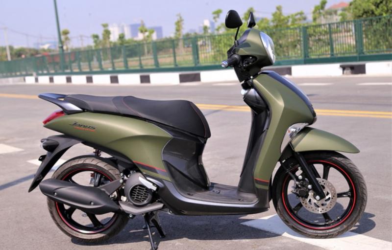 Yamaha Janus 125 2020