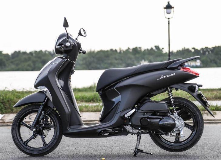 Yamaha Janus Premium cũng là xe tay ga được nhiều chị em yêu thích