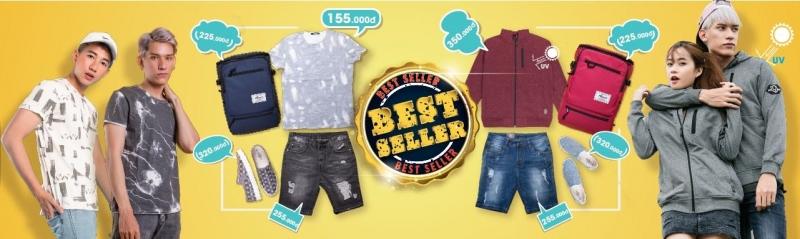 Những sản phẩm bán chạy nhất tại Yame hiện nay.