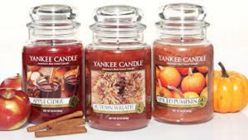Sản phẩm nến sáp thơm của hãng Yankee Candle