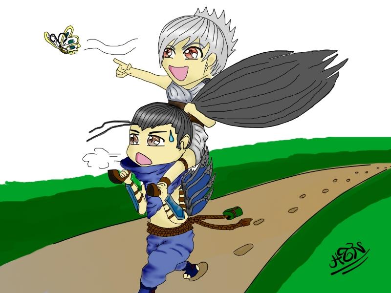 Yasuo và Riven