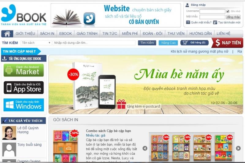 Website của YBook