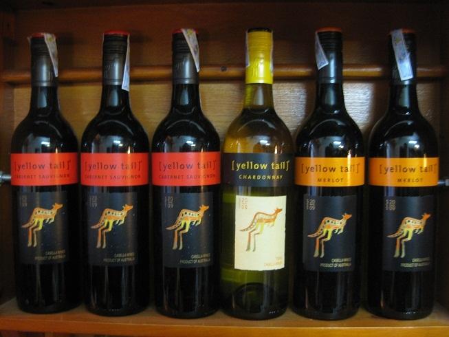 Yellow tail thương hiệu rượu vang bình dân
